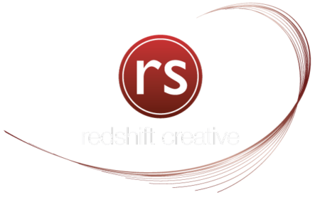 RedShift Creative logo swoosh